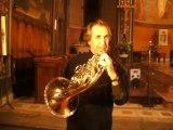 Jean-Louis Barriac, corniste qui se consacre au cor naturel :  à propos du cor d'harmonie...