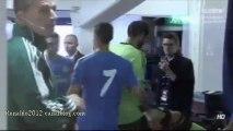 Cristiano Ronaldo Zidane Laurent Blanc Ibrahimovic Kaka before match