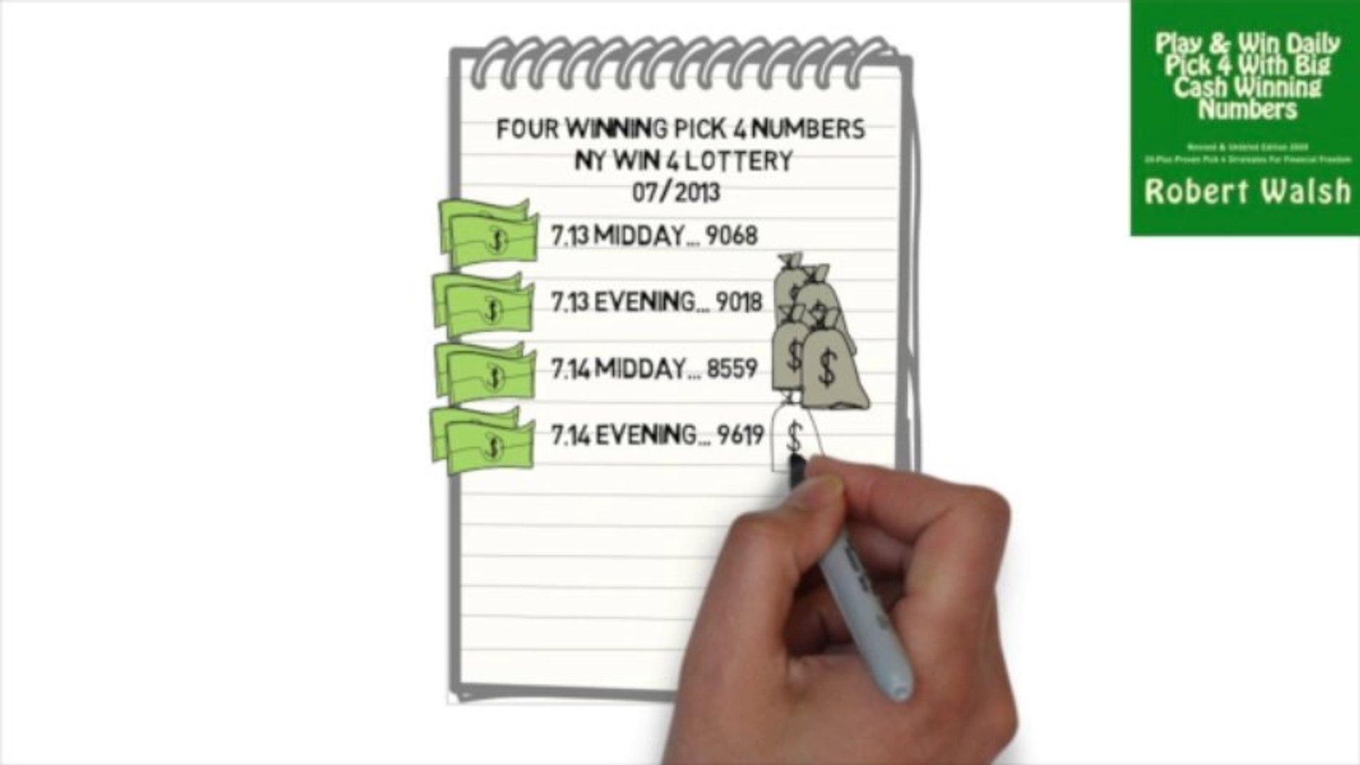 Winning Pick 4 Lottery System