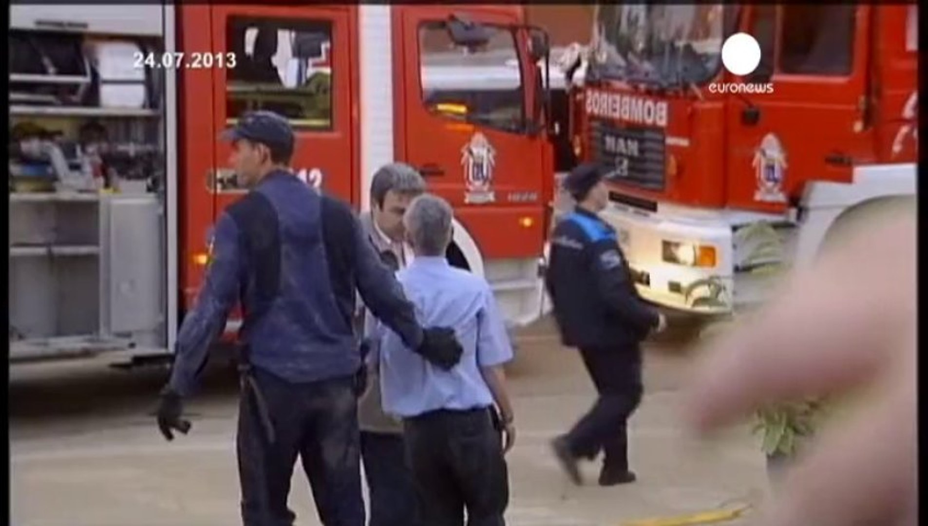 Train driver charged but released under conditions in Spain