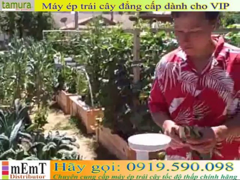 Máy ép trái cây cao cấp ][ Omega VERT VRT330 Juicer Juicing Demonstration  vs Hurom Slow Juicer] - Video Dailymotion