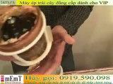 Máy ép trái cây cao cấp ][ Kuvingsvs Omega VRT 330 HD Pineapple Juice Off Review]