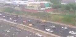 Etats-Unis : un passager filme le crash de l'avion de La Guardia
