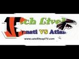 Cincinnati vs Atlanta NFL Live Streaming