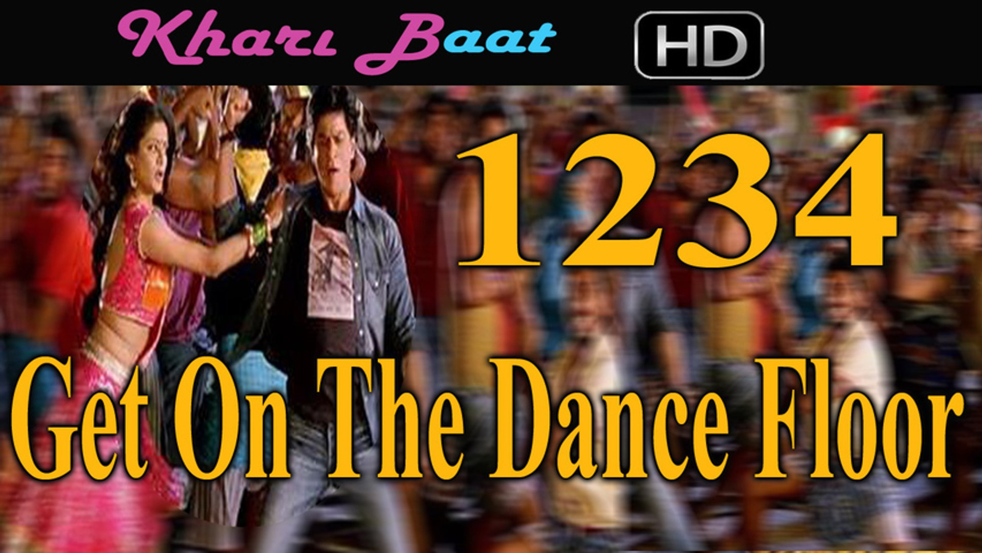 Chennai Express Songs 1234 Get On The Dance Floor Song Review