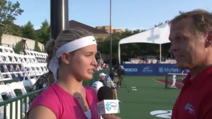 World TeamTennis Interview: Eugenie Bouchard July 24, 2013