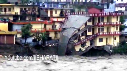 Uttarakhand Flood 2013 Live Video - Heavy Rain Live Vid