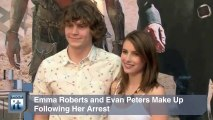 Emma Roberts and Evan Peters Make Up Following Her Arrest