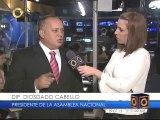 """Visita de Diosdado Cabello a Globovisión """"es una señal de apertura"""""""