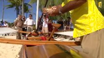 La pirogue à voile remise au goût jour à Bora bora
