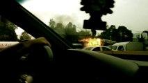 Incendio Autopista México-Puebla