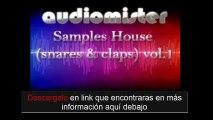 Descarga Samples House, Tech House, Deep House Y Techno Gratis  snares  claps VOL 1