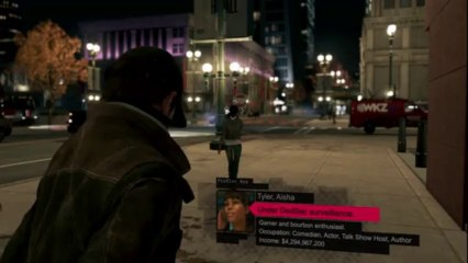 Aisha Tyler In-Game Footage de Watch Dogs