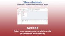 Créer une expression conditionnelle avec Access (expression booléenne)