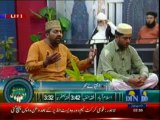 Rehmat-e-Ramzan (Sehri transmission) ON DIN NEWS 31-07-2013 Part-3