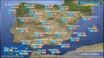 Previsión del tiempo para este miércoles 31 de julio