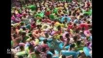 Canicule record en Chine : les piscines prises d'assaut