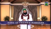 Dars of Faizan e Ramazan Ep 26 - Blessings of Eid ul Fitr - Blessings of Ramadan