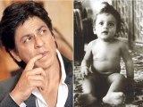 Like Father Like Son AbRam has dimples just like Shahrukh