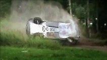 Compil de CRASH sur le rallye de Finlande 2013.