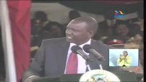 Deputy President William Ruto's inauguration speech