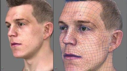 Liverpool 3D Team Head Scan de FIFA 14
