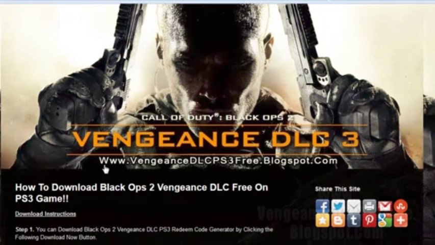 How To Download Black Ops 2 Vengeance PS3 Map Pack DLC