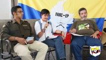 Video-Chat con integrantes de la Delegación de Paz FARC-EP y el Barrio Policarpa Salavarrieta, en bogota.
