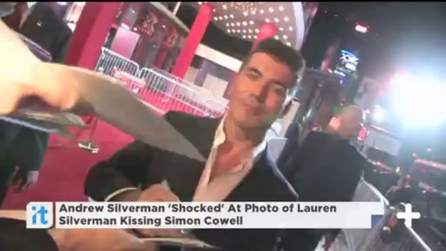 Andrew Silverman 'Shocked' At Photo of Lauren Silverman Kissing Simon Cowell