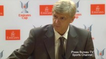 Arsene Wenger Pre Emirates Cup