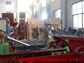 fully autommatic aluminum or copper scraps baling press