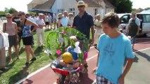 Concours de brouettes décorées à Anzy-le-Duc