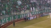 Panathinaikos - Lazio filiko Alafouzos thira 13 Prasina Nea