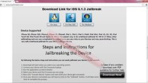 Download Free Evasion Full Untehered iOS 6.1.3 Jailbreak Tool by Evad3rsteam For iPhone 5, iphone 4,  iPhone 3GS, iPad3