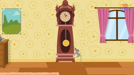 Hickory Dickory Dock - Nursery Rhyme In English With Full Lyrics