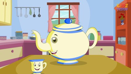 I Am A Little Teapot - Nursery Rhyme In English With Full Lyrics