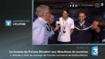 Zapping TV : la bourde de Nelson Monfort face à Camille Lacourt