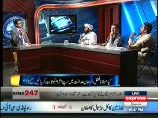 Kal Tak - Imran Khan Talking Maulana Fazal-ur-Rehman To Court - 5th August 2013