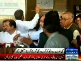 Welcome Welcome President Mamnoon Welcome, PML-N welcome Mamnoon Hussin in his home town Karachi