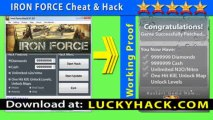 Iron Force Cheat for unlimited Cash and Diamonds - No jailbreak Working Iron Force Cash Cheat