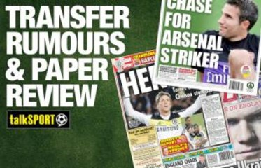 Transfer rumours and paper review with Andy Brassell – Tuesday, August 6