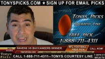 Tampa Bay Buccaneers vs. Baltimore Ravens Pick Prediction NFL Pro Football Odds Preview 8-8-2013