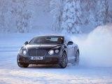Retour en Finlande pour Bentley et son programme de conduite sur glace