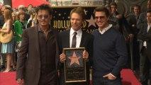 Tom Cruise, Johnny Depp and Bob Iger Honor Producer Jerry Bruckheimer