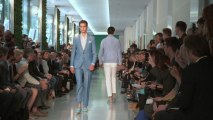 Male Fashion Models Hit The Runway in London