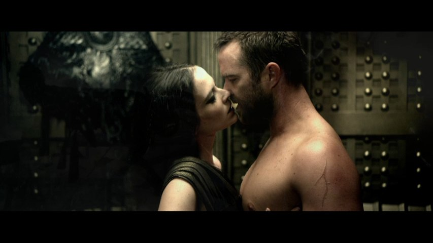 "Lena Headey and Rodrigo Santoro in ""300: Rise Of An Empire"" First Trailer"