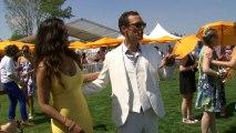 Matthew McConaughey and A Hot Camila Alves At The Veuve Clicquot Polo Classic
