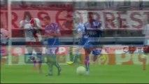 But Sébastien HALLER (74ème) - Stade Brestois 29 - AJ Auxerre (1-4) - 2013/2014