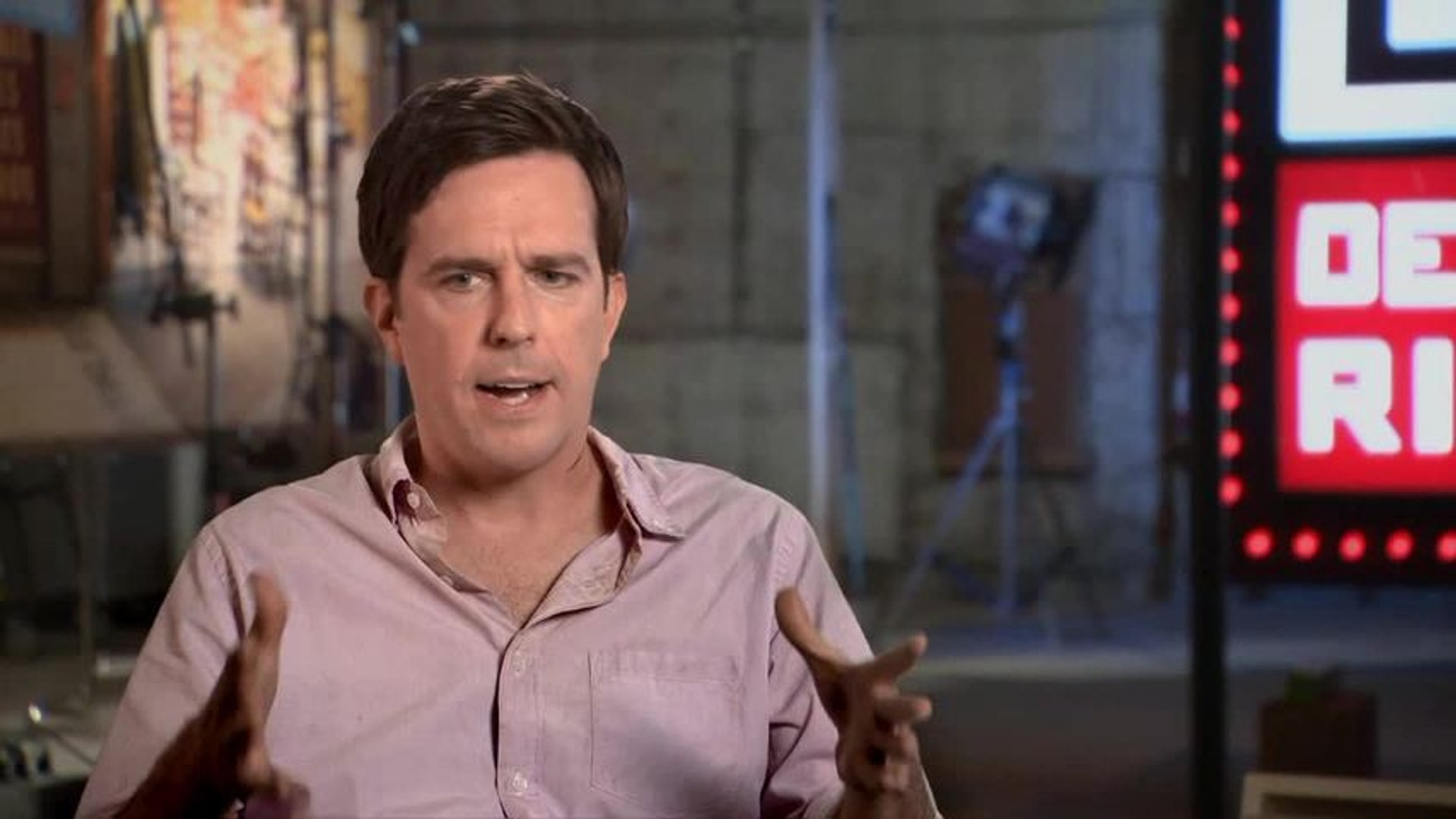Ed Helms Has an Unfair Amount Of Fun Making Hangover 3