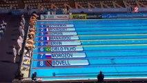 Finale 50m NL (H) - ChM 2013 natation (Manaudou, Bousquet)